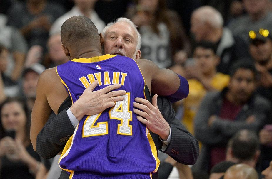 Greggas Popovičius ir Kobe Bryantas