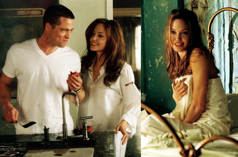 """Bradas Pittas ir Angelina Jolie filme """"Ponas ir ponia Smitai"""""""