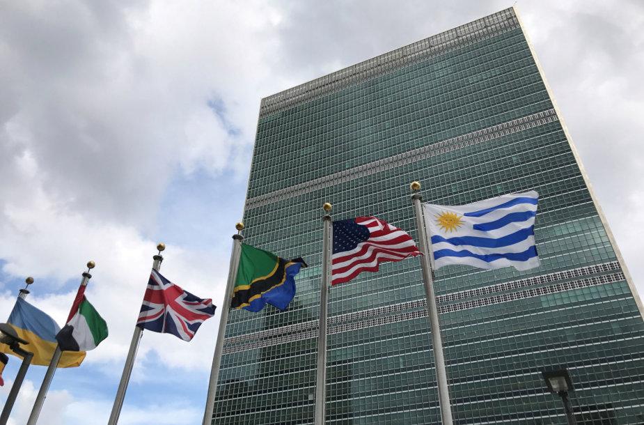 Jungtinių Tautų būstinė Niujorke