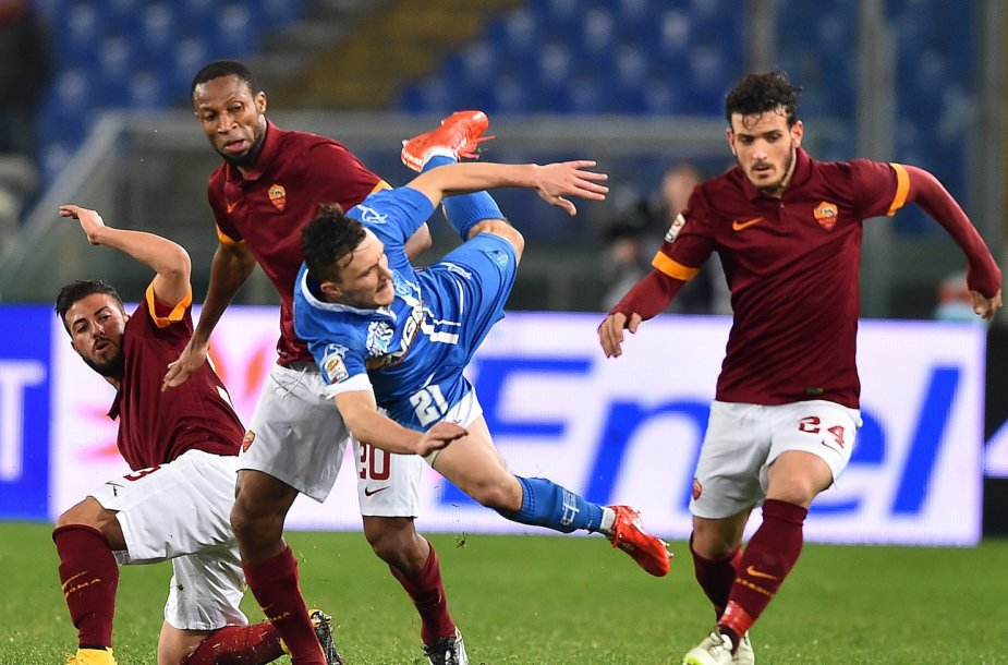 """Roma"" ir ""Empoli"" rungtynės baigėsi lygiosiomis"