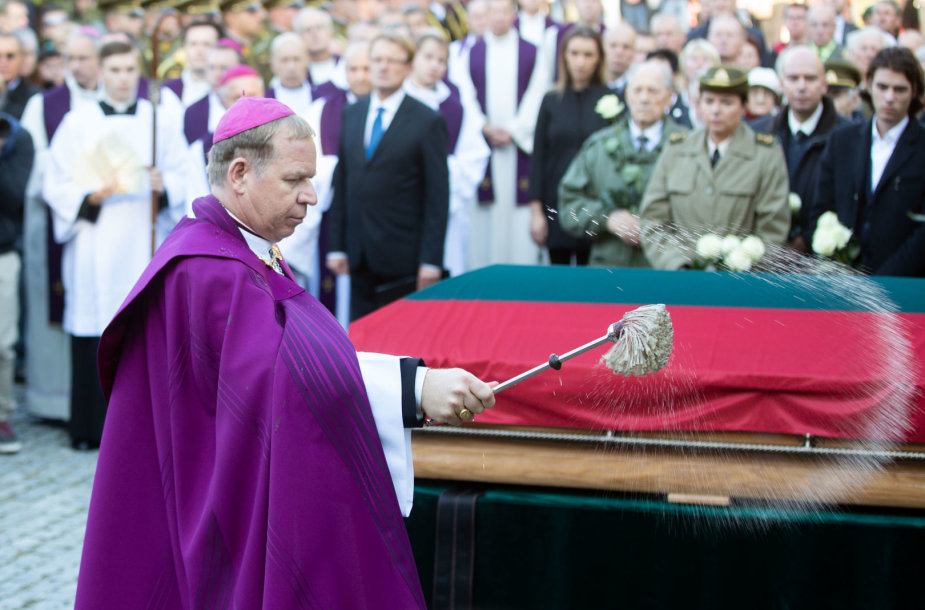 Adolfo Ramanauso-Vanago laidotuvės