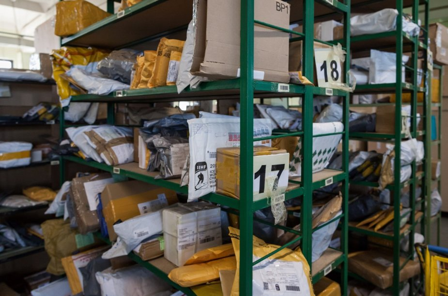 Pašto siuntose sulaikytos draudžiamos prekės