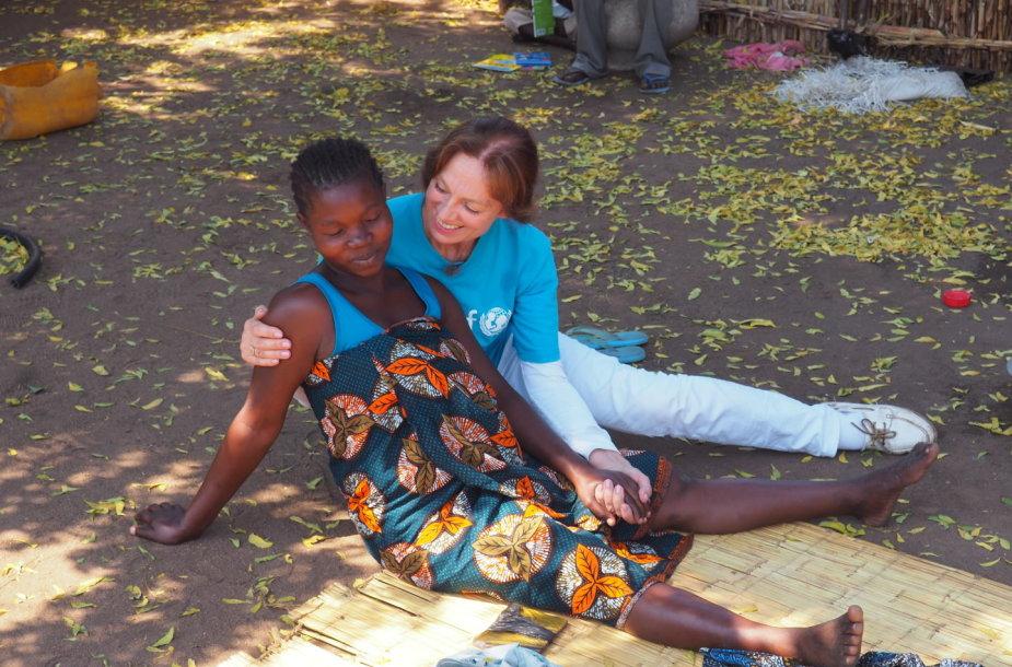 Virginija Kochanskytė UNICEF misijoje Malavyje