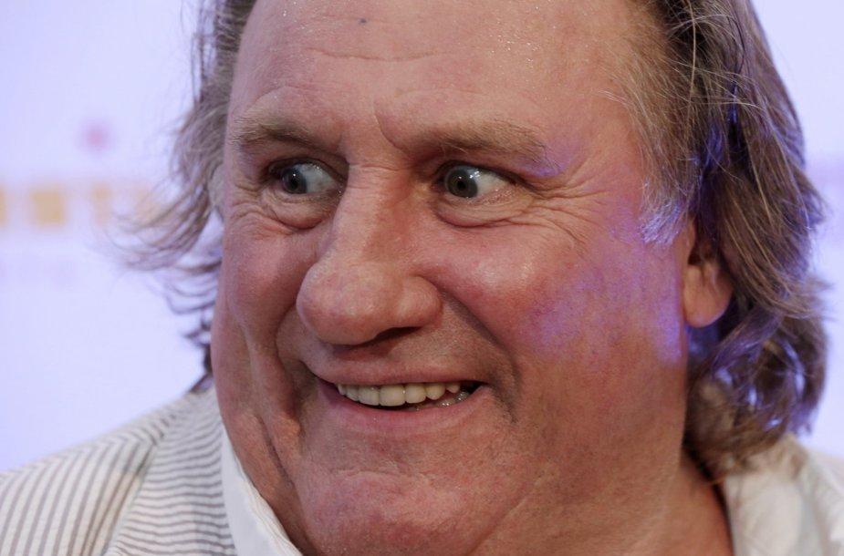 Prancūzijos aktorius Gerard'as Depardieu