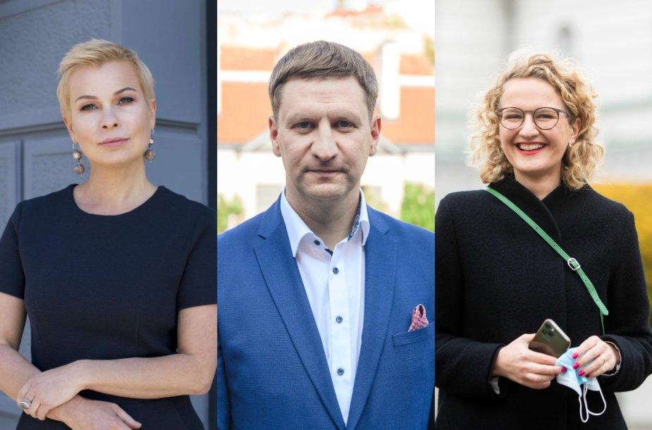 Erika Godlevska, Simonas Kairys, Aušrinė Armonaitė