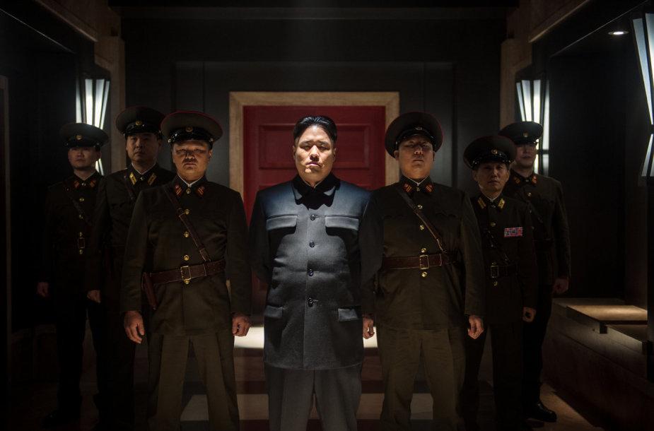 """Šiaurės Korėjos diktatorių Kim Jong-Uną filme """"Interviu"""" vaidina Randallas Parkas"""