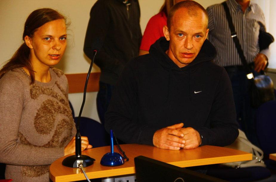 Lauros ir Valerijaus Raskazovų byla Panevėžio apygardos teisme
