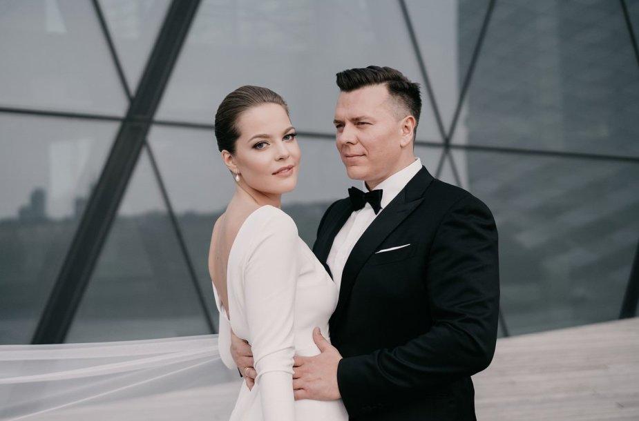 Aleksandras Brokas ir Gretė Smičiūtė