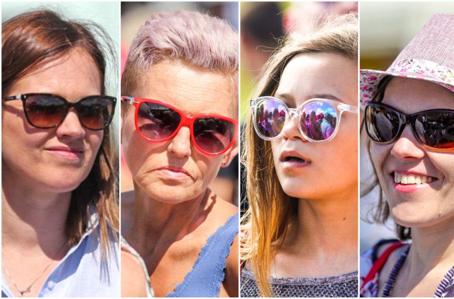 Jūros šventės svečių stilius: akiniai nuo saulės
