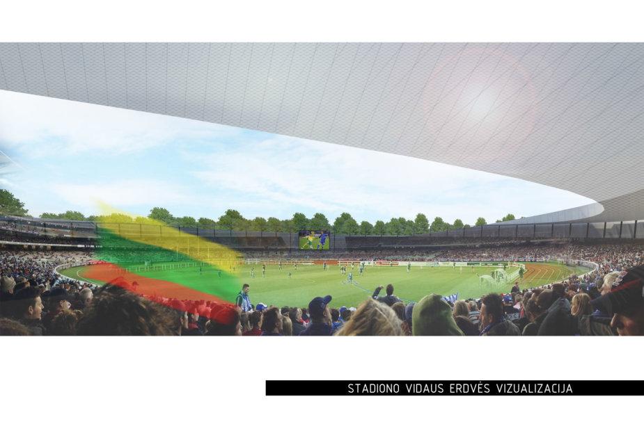 Stadiono vizualizacija