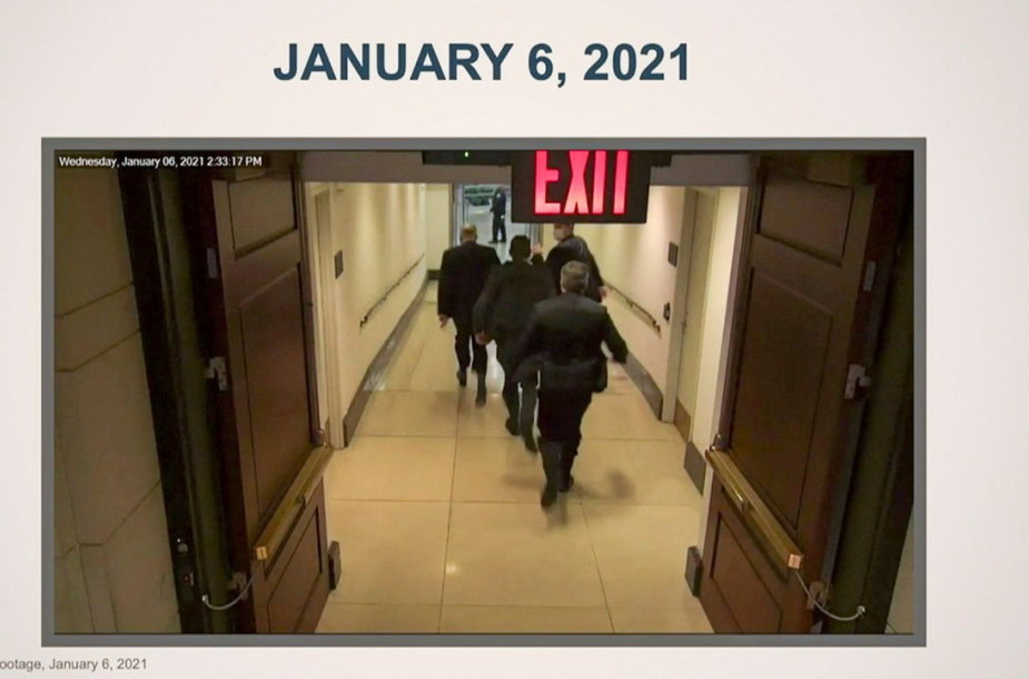 Vaizdai iš Kapitolijaus šturmo sausio 6-ąją