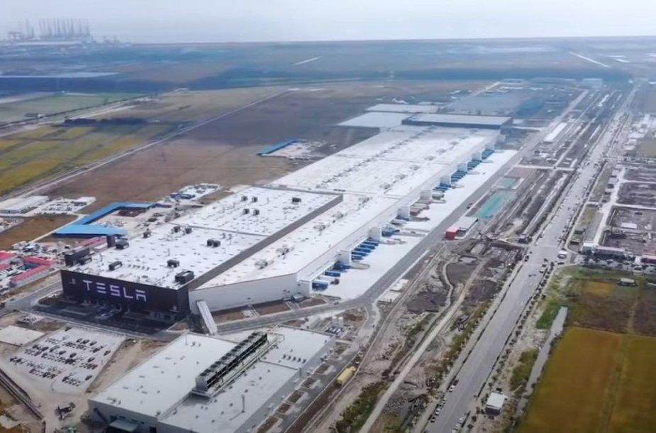 "Šanchajaus ""Gigafactory 3"" gamykla"