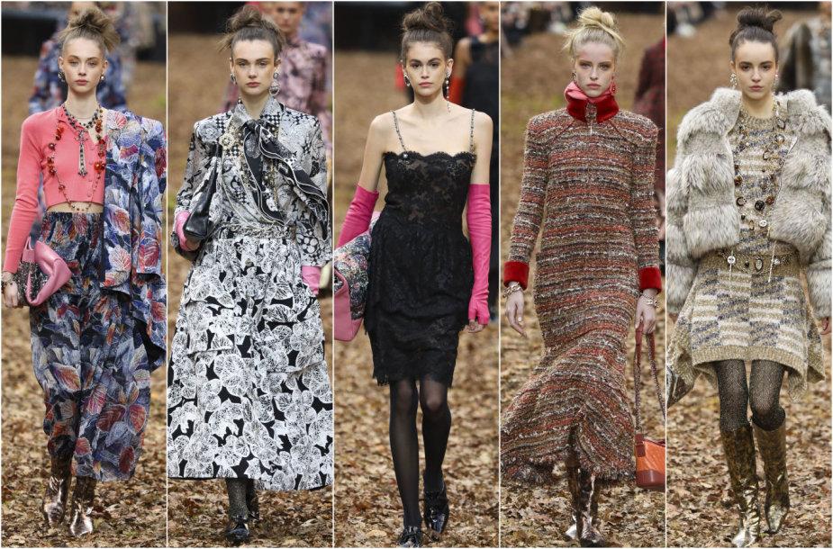 """""""Chanel"""" 2018–2019 m. rudens ir žiemos kolekcijos modeliai"""