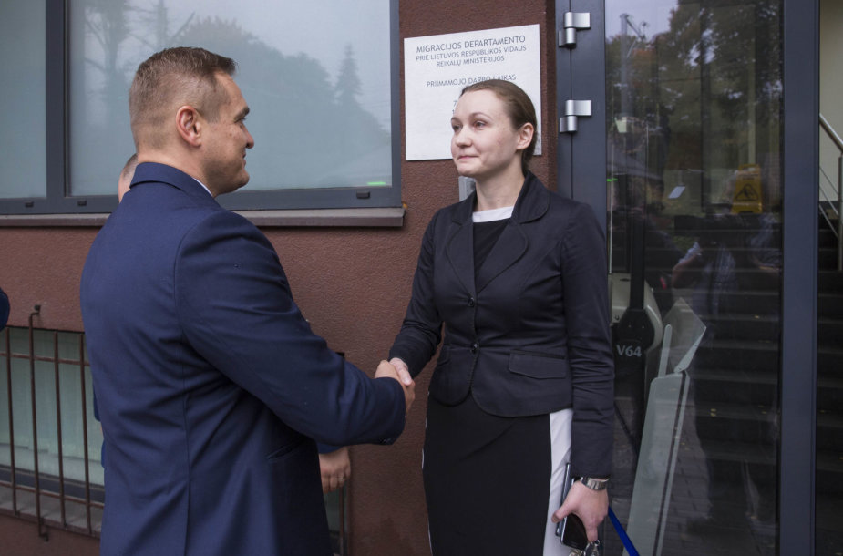 Eimutis Misiūnas ir Evelina Gudzinskaitė