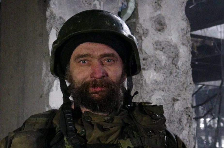 Rusijos teroristas Donecko oro uoste