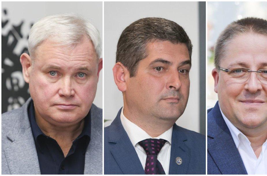 Vytautas Grubliauskas, Darius Jasaitis ir Šarūnas Vaitkus