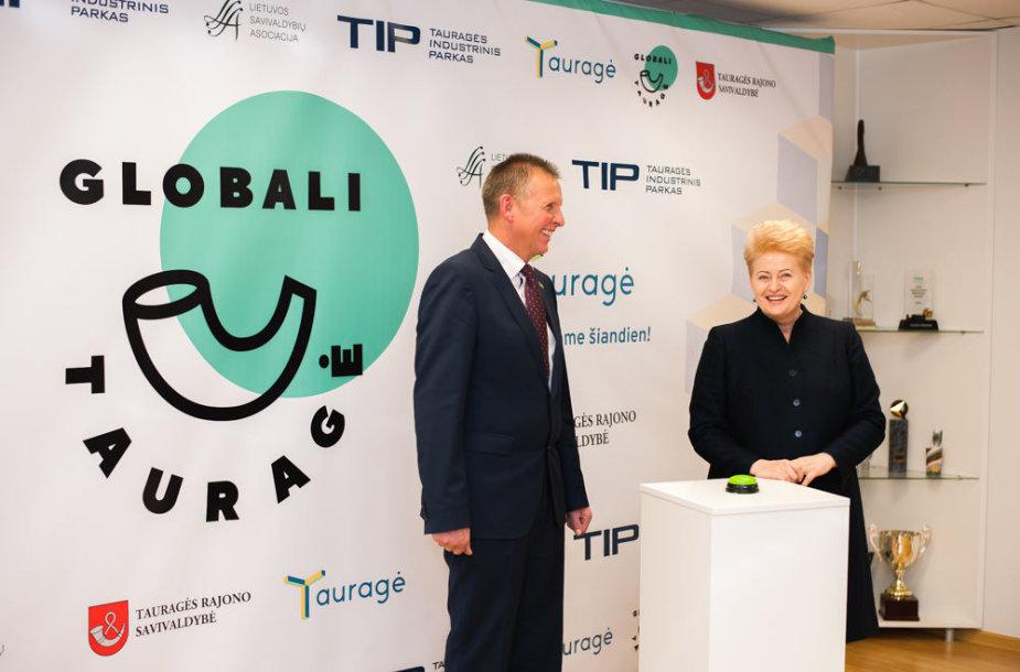 Prezidentės vizitas Tauragėje