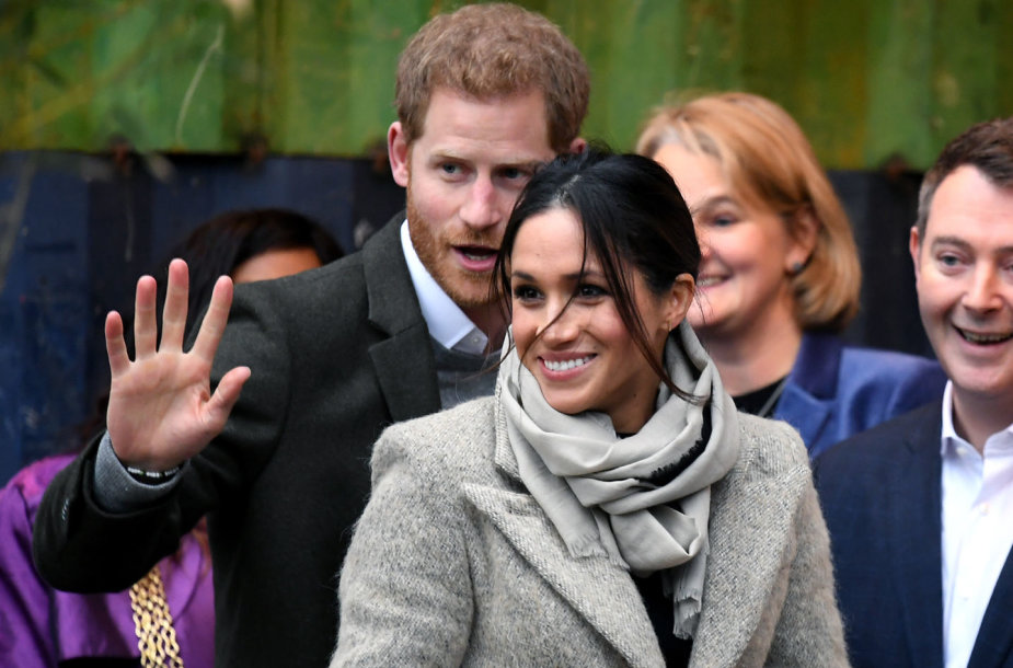 Princas Harry ir Meghan Markle