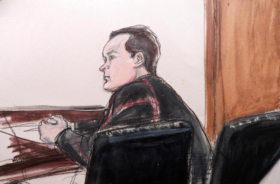 Jevgenijus Buriakovas teisme