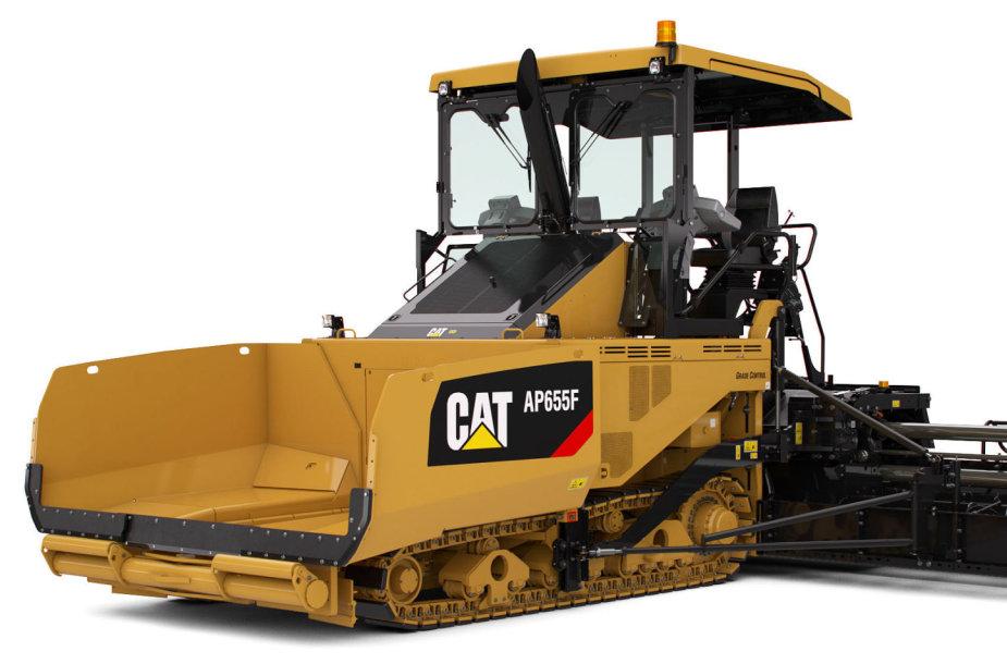 vikšrinis asfaltbetonio klotuvas Cat AP655F