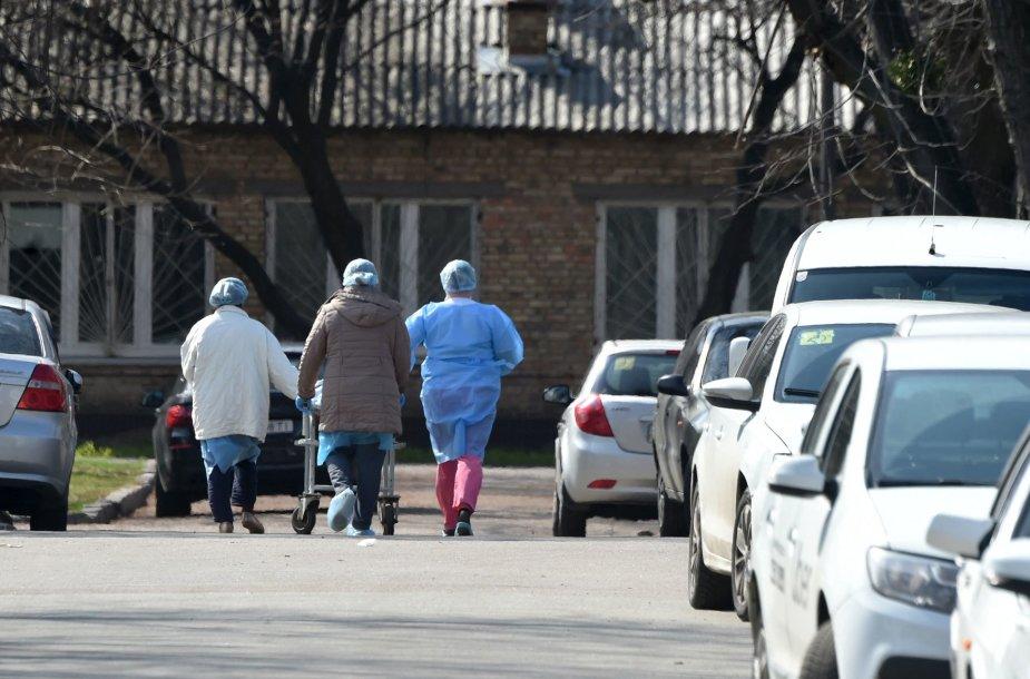 Kijevas per pandemiją