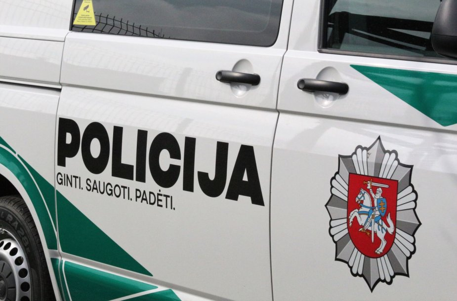 Klaipėdoje pašventinti nauji policijos automobiliai.
