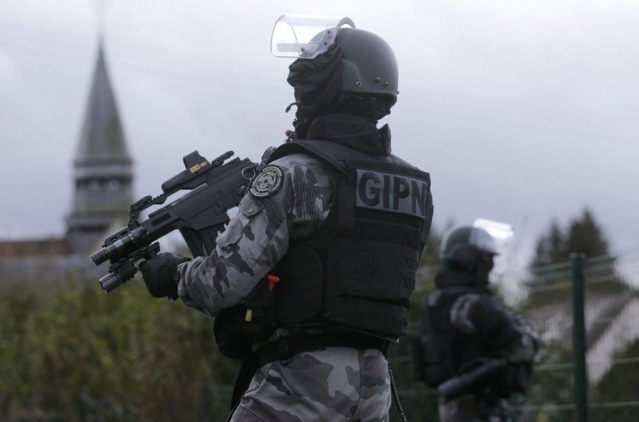 Prancūzijos saugumo pajėgos
