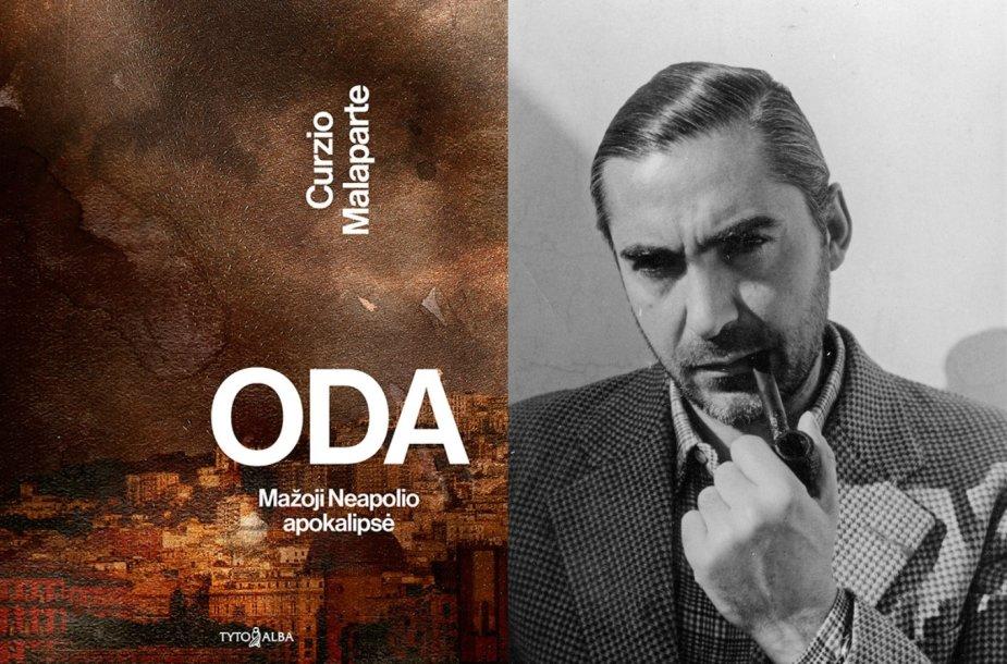 Knygos viršelis ir rašytojas Curzio Malaparte