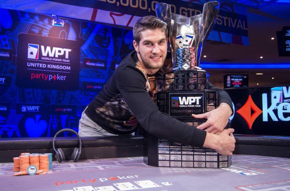 WPT čempionas Matas Cimbolas / wpt.com nuotr.