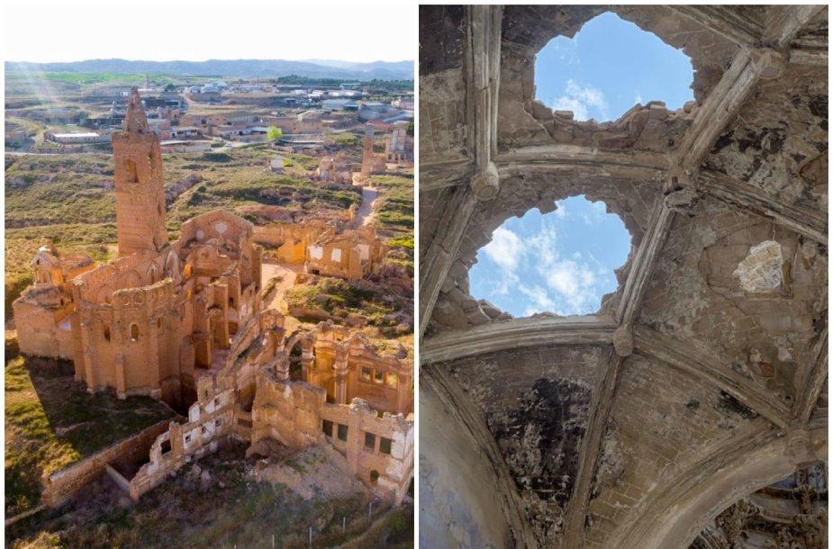Vaiduoklių miestas Ispanijoje – karo fronto neatlaikiusi Belčitė