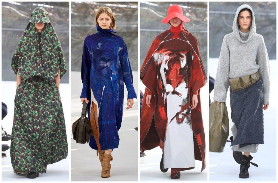 """""""Kenzo"""" 2020–2021 m. rudens ir žiemos kolekcijos modeliai"""