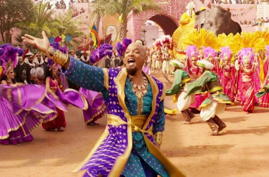 """Willas Smithas filme """"Aladinas"""""""