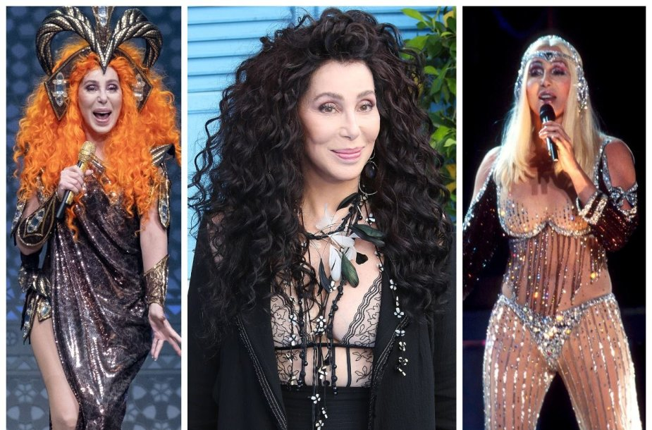 Dainininkė Cher