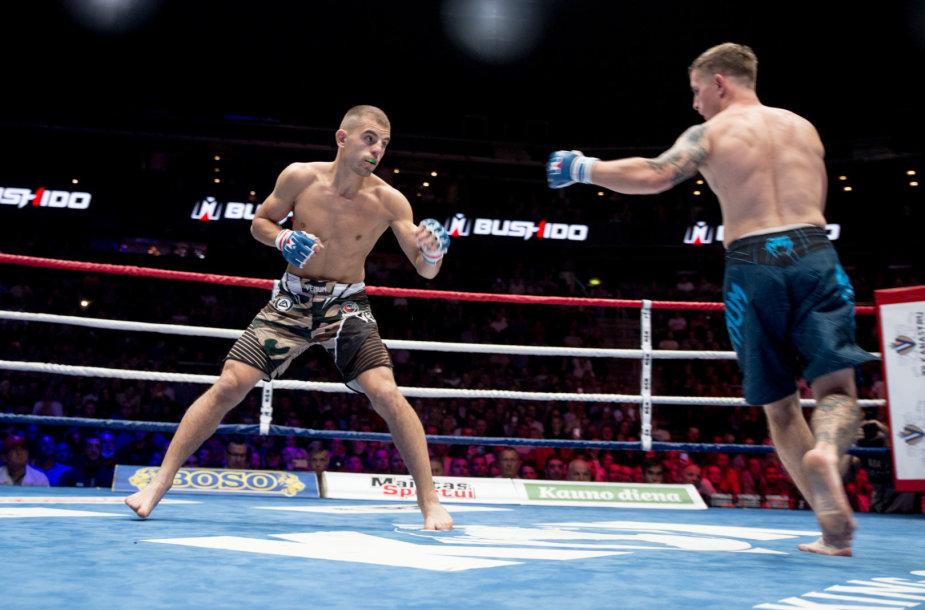 Ignas Barysas prieš Andrey Hohlovas