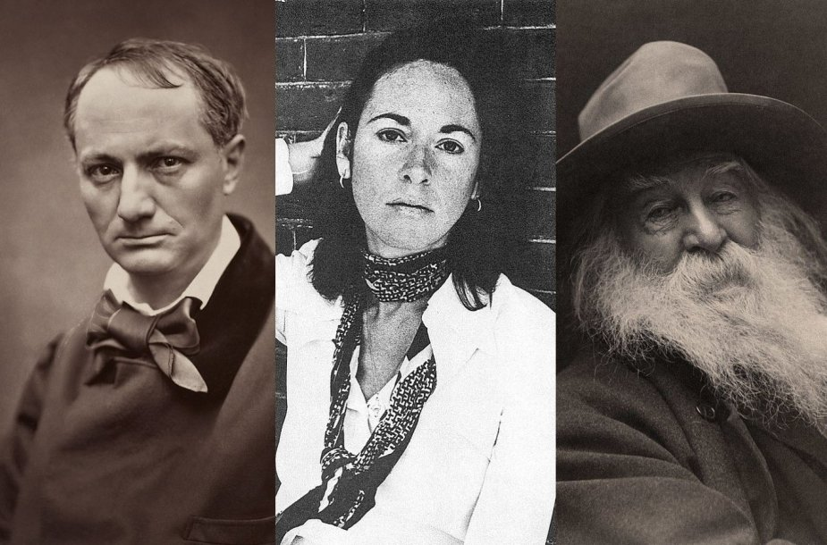Charlesas Baudelaire'as, Louise Glück, Waltas Whitmanas