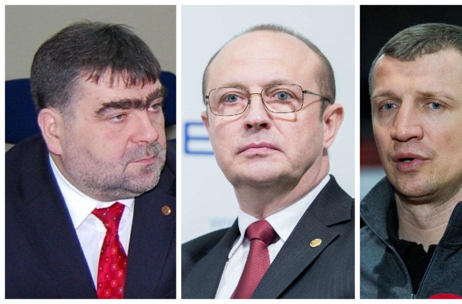 Artūras Margelis, Ričardas Malinauskas ir Tomas Pačėsas