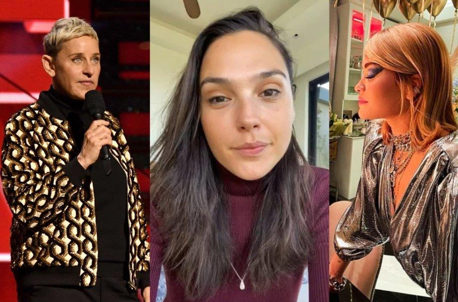 Ellen DeGeneres, Gal Gadot, Rita Ora