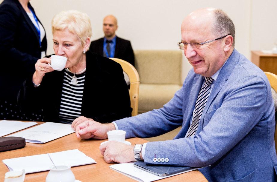 Andrius Kubilius, Irena Degutienė