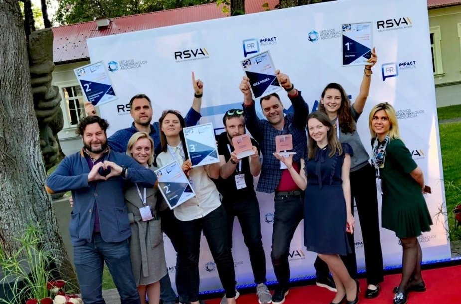"""""""PR Impact awards"""" apdovanojimai"""