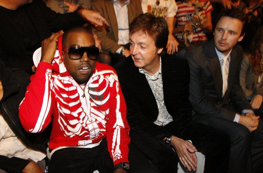 Kanye Westas ir Paulas McCartney