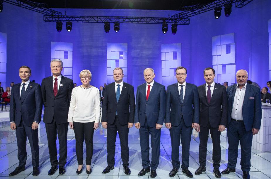 Kandidatų į prezidentus debatai