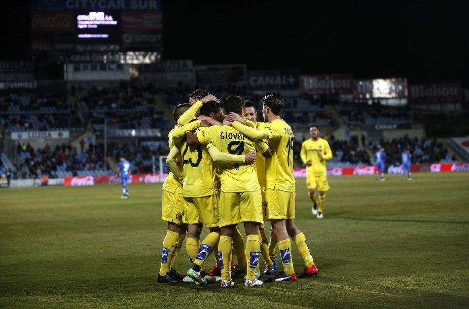 """""""Villarreal"""" pirmą kartą istorijoje pateko į Karaliaus taurės pusfinalį"""