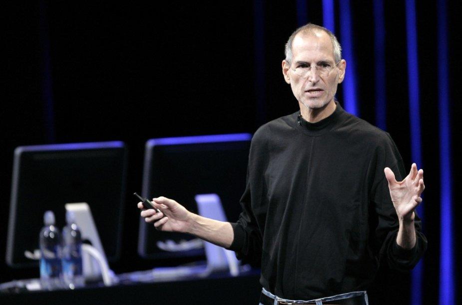 Prieš 59-erius metus gimė Steve'as Jobsas