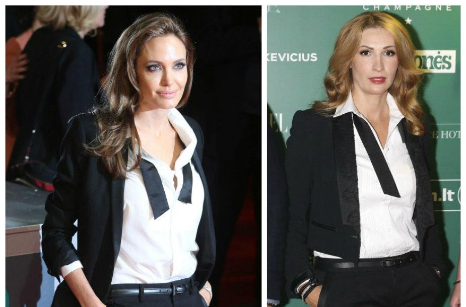 Angelina Jolie ir Daina Bosas
