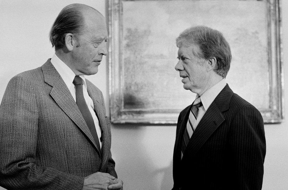 Odvaras Nordli ir Jimmy Carteris