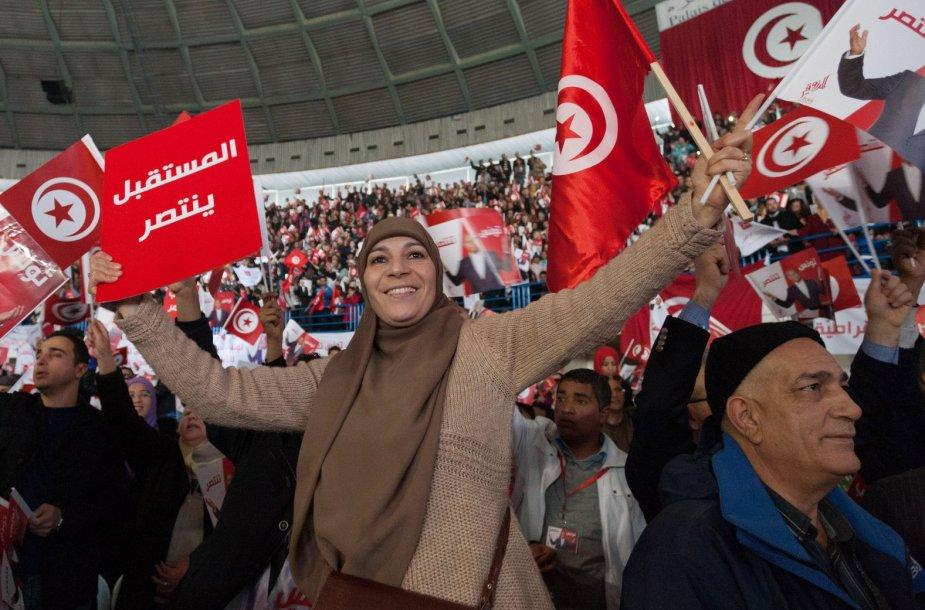 Tunise vyksta prezidento rinkimai.
