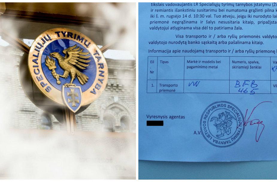 Vilniaus savivaldybės mašiną vagišius pavogė pateikdamas suklastotą STT dokumentą