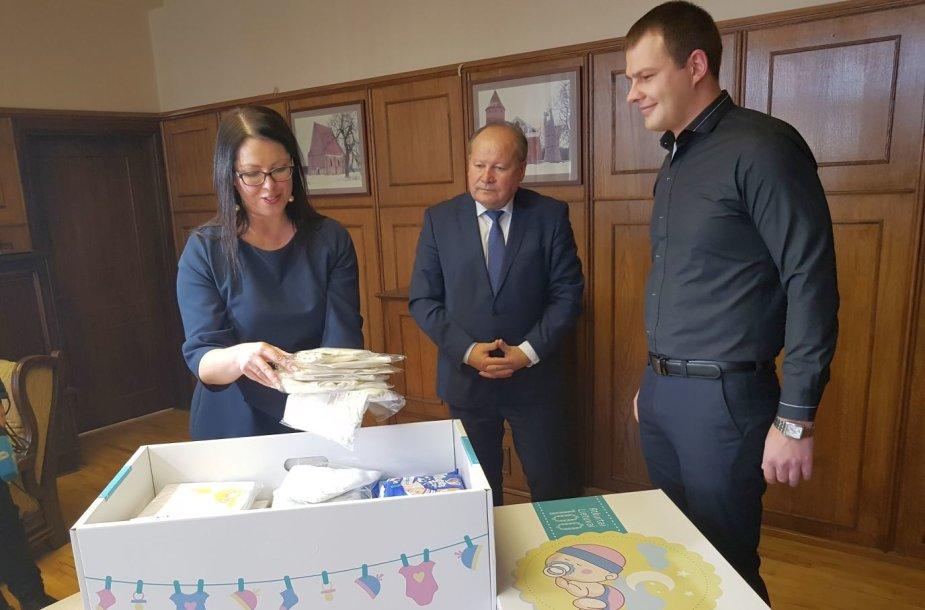 Kauno rajonas dalina kūdikio kraitelius visiems gimusiems 2018-aisiais