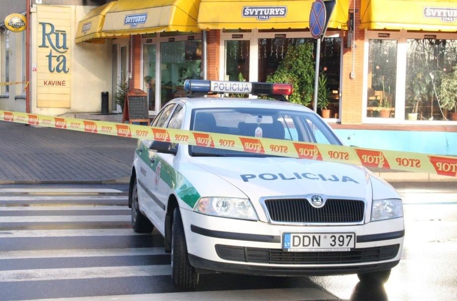 Palangoje tarnybos sukeltos ant kojų gavus informaciją apie sprogmenis