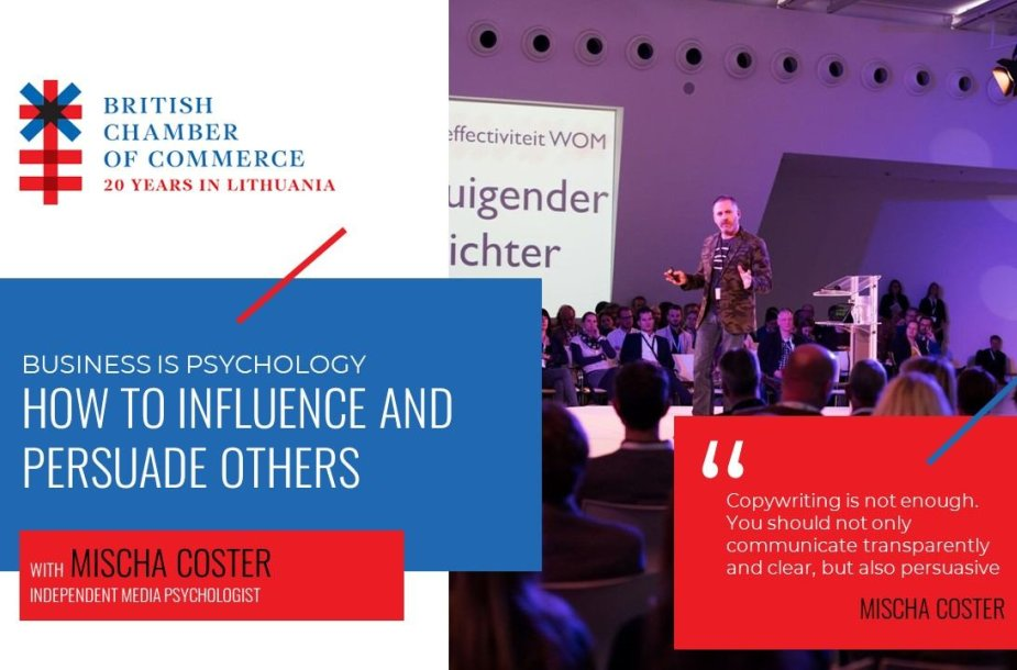 Business is Psychology with Mischa Coster